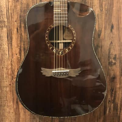 DreamMaker DM-KU-280 Acoustic Guitar Dark Brown for sale