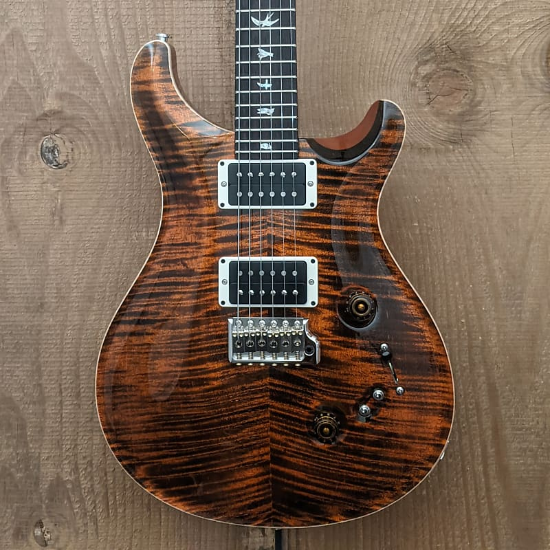Paul Reed Smith PRS Core Custom 24-08 Electric Guitar Orange Tiger