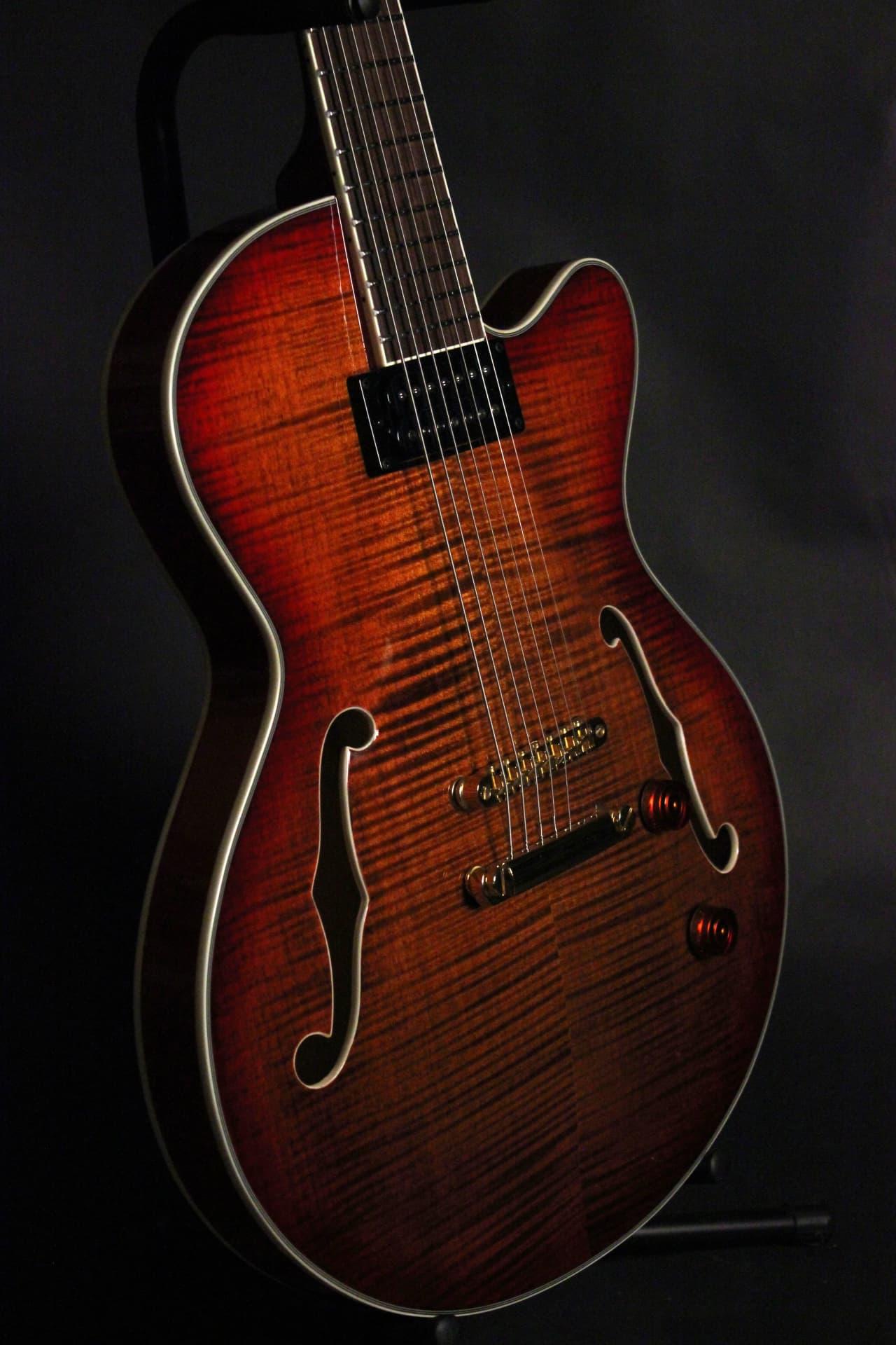 Raines LA-7 7 String Archtop Hollowbody Thinline Guitar 2017 | Reverb