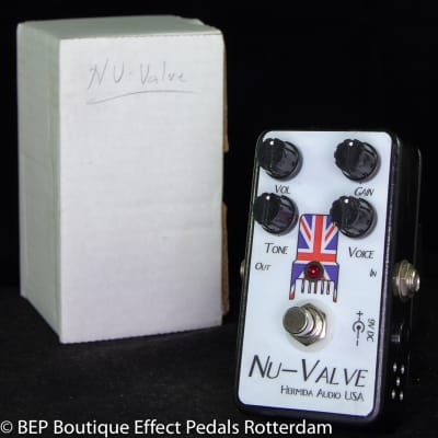 Hermida Audio Nu-Valve Tube Overdrive 2011 hand built and signed by Mr. Alfonso Hermida