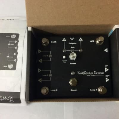 EarthQuaker Devices Devices Swiss Things Pedalboard Reconciler Pedal