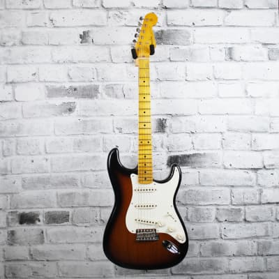 Fender Custom Shop '56 Journeyman Relic Stratocaster - Maple, 2-Color Sunburst - Limited Edition Canadian Black Ash for sale