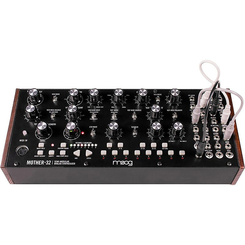 moog mother 32 semimodular analog synthesizer step sequencer reverb. Black Bedroom Furniture Sets. Home Design Ideas