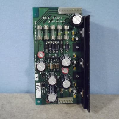 Ensoniq ESQ-1 parts - power regulator (metal edition)
