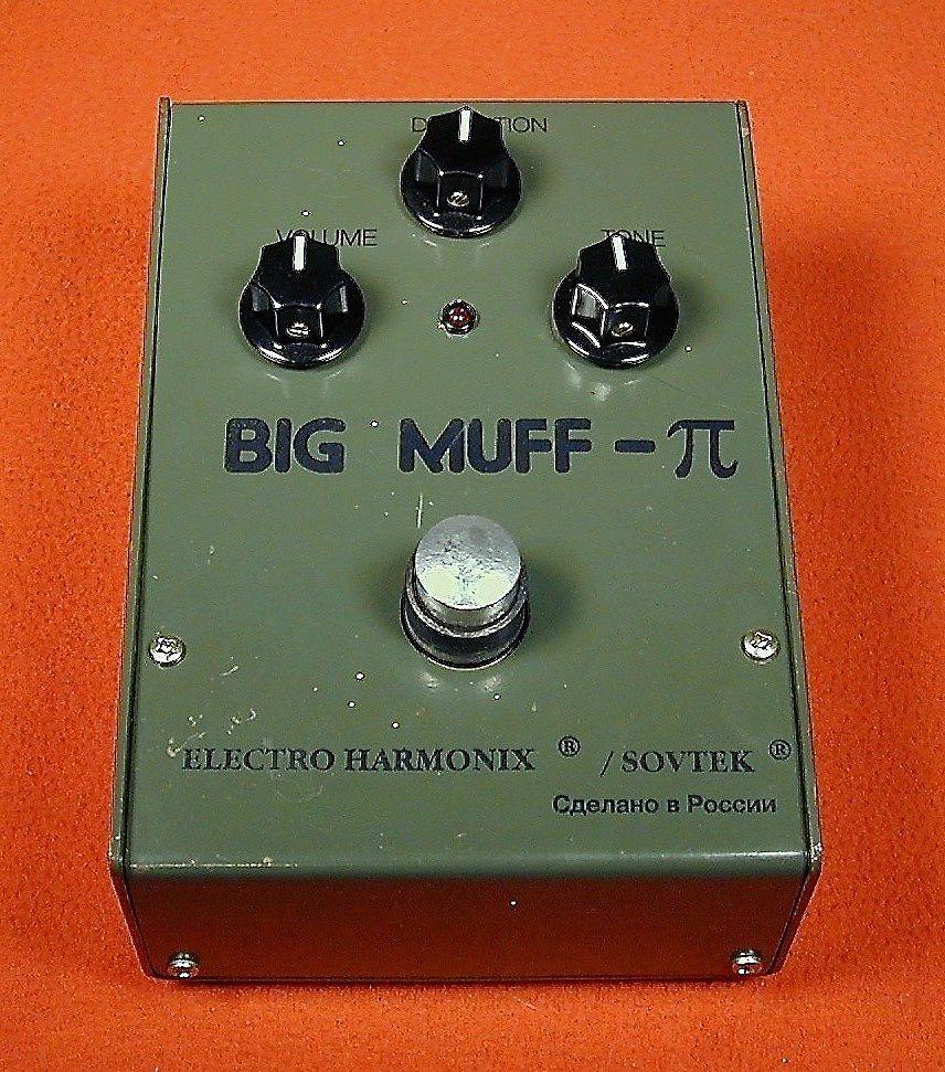 electro harmonix sovtek green russian big muff pi reverb. Black Bedroom Furniture Sets. Home Design Ideas