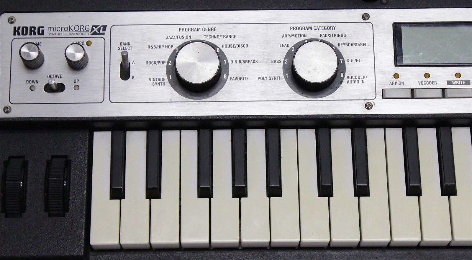 korg microkorg xl synthesizer vocoder reverb. Black Bedroom Furniture Sets. Home Design Ideas