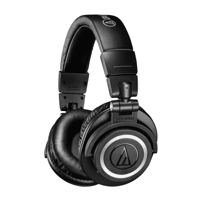 Audio-Technica ATH-M50xBT Wireless Headphones UP TO 40 Hours Continuous use on a single charge 2019s