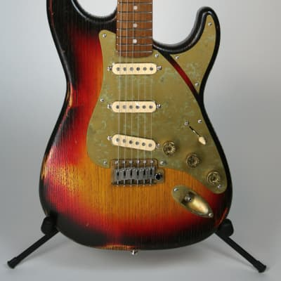 Paoletti Stratospheric Loft 3-Tone Sunburst SSS for sale