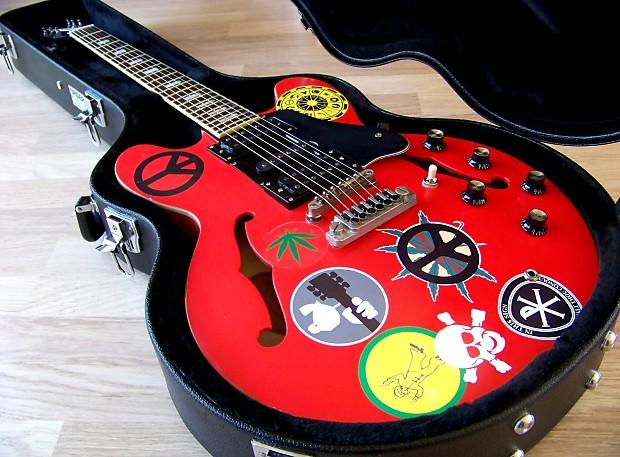 Excellent Tpp Woodstock Alvin Lee Big Red Epiphone Es 335 Reverb Wiring Cloud Hisonuggs Outletorg