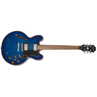 Epiphone Limited Ediiton Dot Deluxe, Blueburst for sale