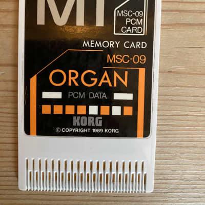 Korg MSC-09 Organ memory card for M1 /M1R