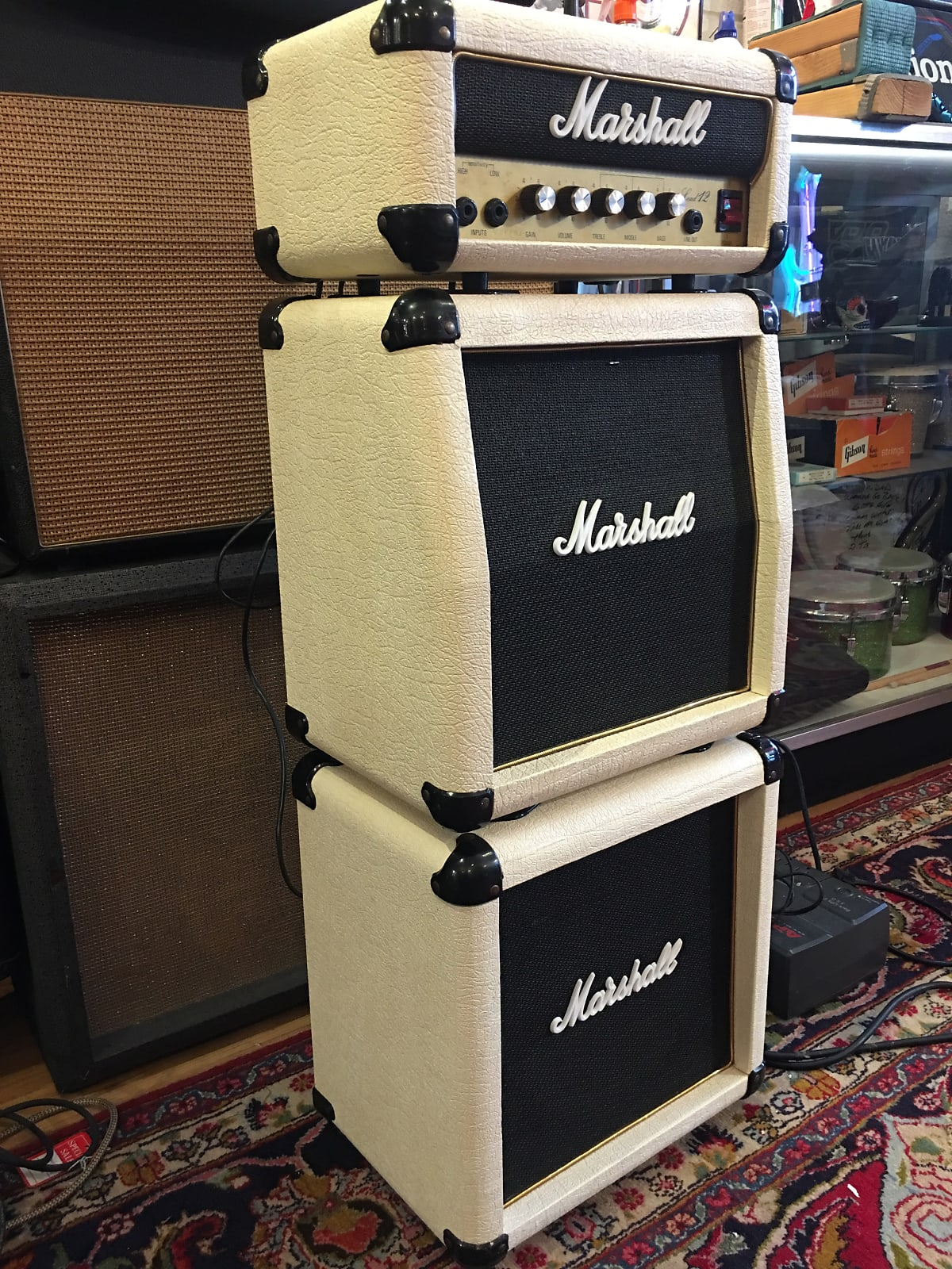 Marshall Lead 12 Mini-Stack Rare White Made In UK