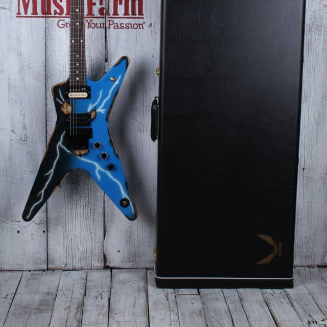 Dean 2016 USA Dimebag Darrell Dime ML Rust From Hell Electric Guitar w Case COA image
