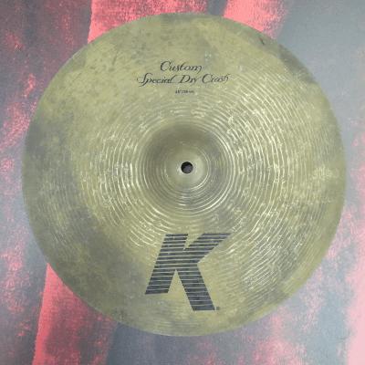 """Zildjian 15"""" K Custom Special Dry Crash Cymbal"""