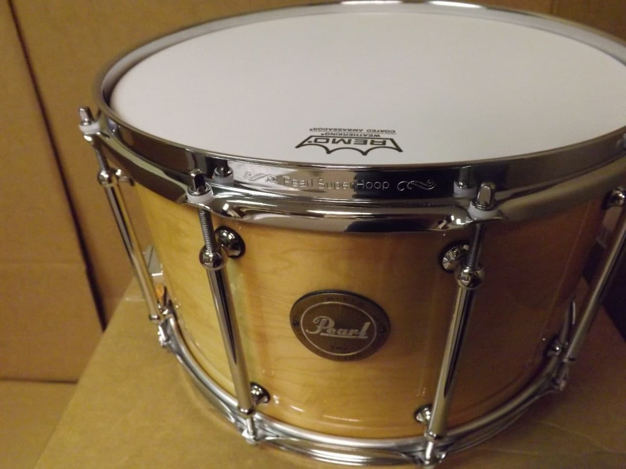 pearl 14x8 maple snare drum price drop free shipping reverb. Black Bedroom Furniture Sets. Home Design Ideas