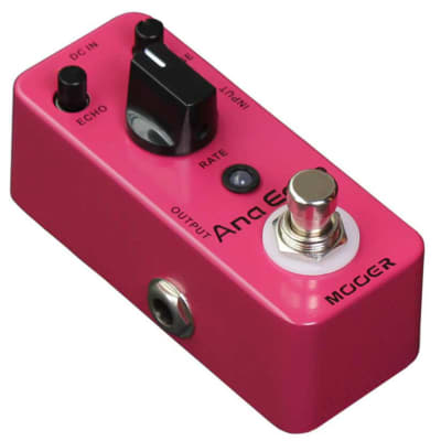 Mooer Anna Echo Mini Analog DELAY Guitar Effect Pedal 300ms True Bypass New