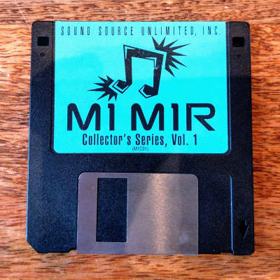"""Sound Source Unlimited Sounds for Korg M1/M1R on floppy disk, M1C01 """"Collector's Series"""" 1990s"""