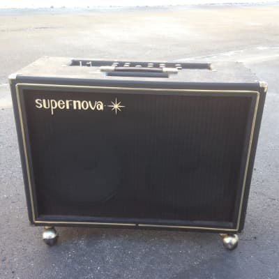 Vintage 60's Sano  Supernova 1000R-12 Reverb/Tremolo 2x12 Combo for sale