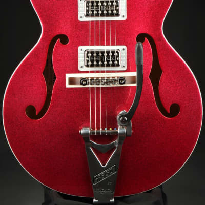 Gretsch G6120T-BSHR Brian Setzer Signature Hot Rod Hollow Body with Bigsby®, Rosewood Fingerboard - Magenta for sale