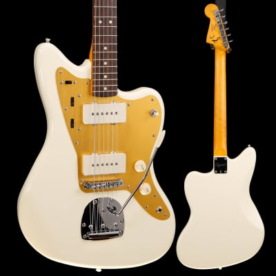 Squier J Mascis Jazzmaster, Laurel FB, Vintage White 287 8lbs 13.9oz for sale