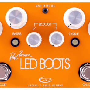 J. Rockett Audio Designs Mark Sampson Led Boots Phil Brown Overdrive - J. Rockett Audio Designs Mark Sampson Led Boots Phil Brown Overdrive for sale
