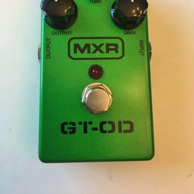 MXR Dunlop M-193 GT-OD Overdrive Distortion Guitar Effect Pedal