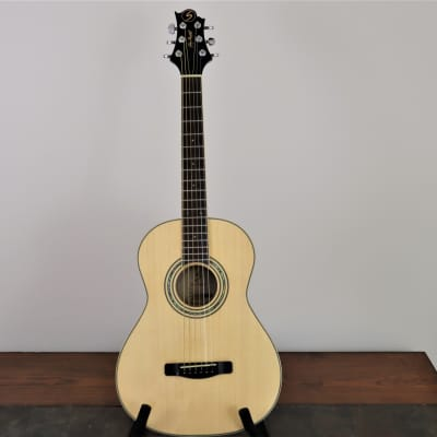 Samick Greg Bennett Design TT65 Worthington Travel Guitar Natural for sale