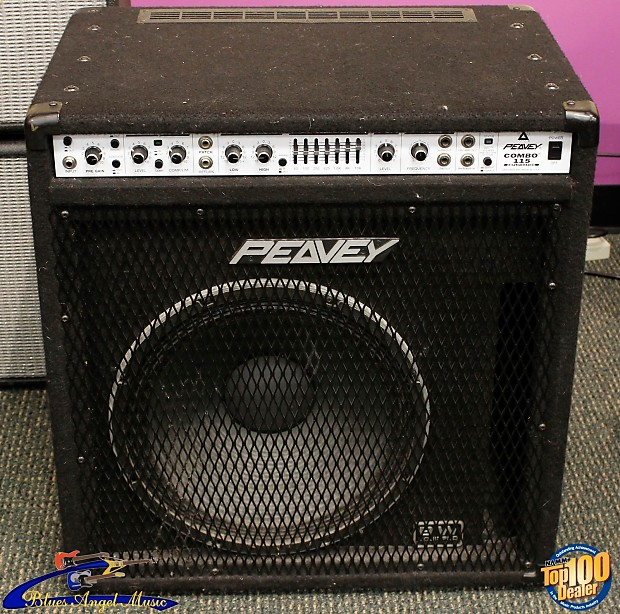 peavey amplification combo 115 bass amp 210 watts made in reverb. Black Bedroom Furniture Sets. Home Design Ideas