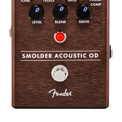 Fender Smolder Acoustic Overdrive Pedal for sale