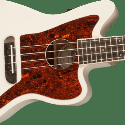 Fender Fullerton Jazzmaster Uke Olympic White new open box display 20% off