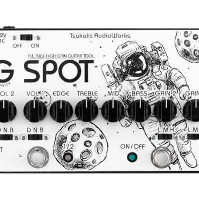 Tsakalis Audio Works Gravity Spot Tube Overdrive