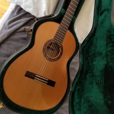 Jorge Montalvo  Cedar / Cypress Handmade Flamenco Guitar w/pegs 1994 for sale