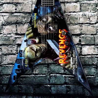 USED Jackson USA KV2T Mike Learn Classic Zombie Movie Mural for sale