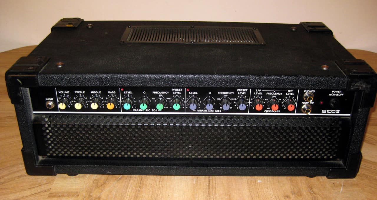 yamaha b100 iii bass amp head reverb. Black Bedroom Furniture Sets. Home Design Ideas