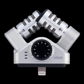 Zoom iQ6 iOS Lightning X/Y Microphone
