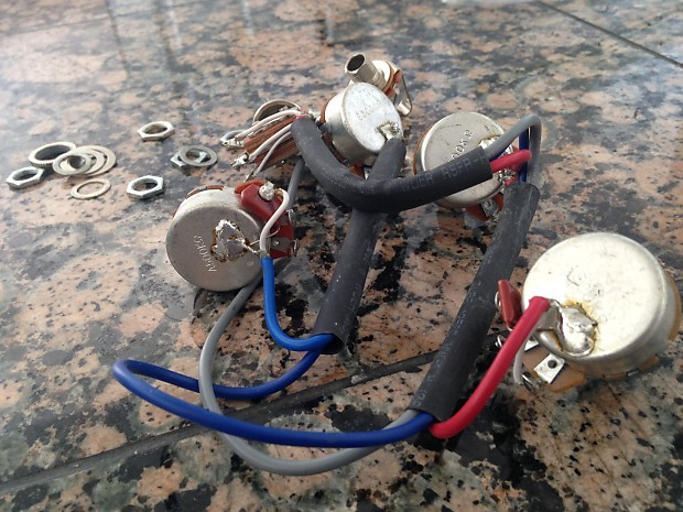 new epiphone 335 dot les paul guitar wiring harness with