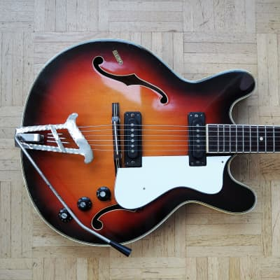 Musima 1657 - ES-330/Casino/Coronado-style guitar - made in Communist East Germany for sale