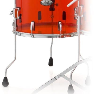 """CRB1413F/C731 Pearl Crystal Beat 14""""x13"""" Floor Tom RUBY RED"""