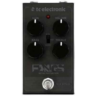 Tc Electronic Fangs Metal Distortion Effetto Distorsione A Pedale Per Chitarra for sale