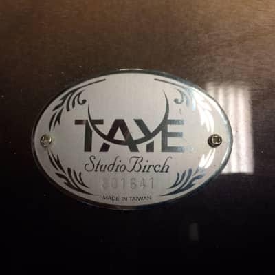 Taye Studio Birch 4pc.  Shells Only + Tom Mount