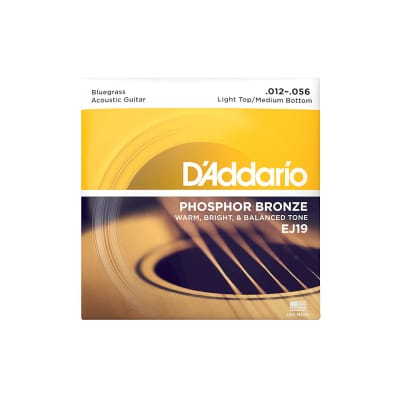 D'Addario EJ19 .012-056 Bluegrass