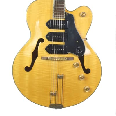 Epiphone Zephyr Blues Deluxe Hollow Body Electric Guitar for sale