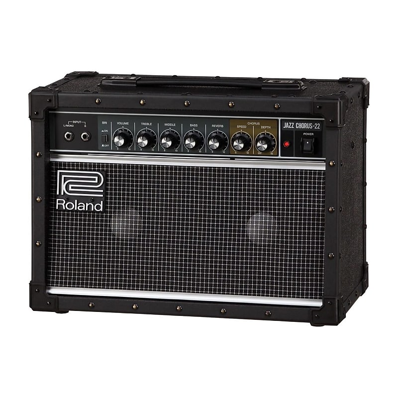 roland jc 22 jazz chorus 22w stereo combo amp reverb. Black Bedroom Furniture Sets. Home Design Ideas