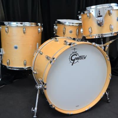 """Gretsch 22/13/16/6.5x14"""" Brooklyn Drum Set - Maple Satin"""