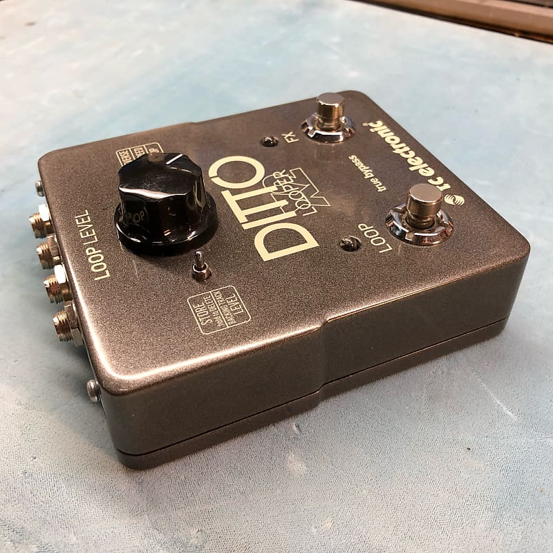 tc electronic ditto x2 looper pedal reverb. Black Bedroom Furniture Sets. Home Design Ideas