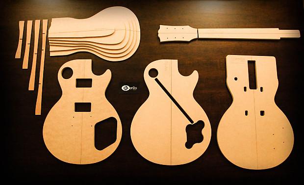 Henriks guitars 59 les paul template set reverb henriks guitars 59 les paul template set pronofoot35fo Image collections