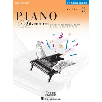 Piano Adventures: The Basic Piano Method - Lesson Book Level 2B (2nd Edition)