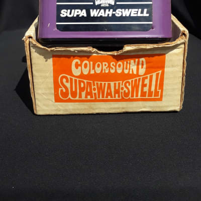 Colorsound  supa wah swell 1978 for sale