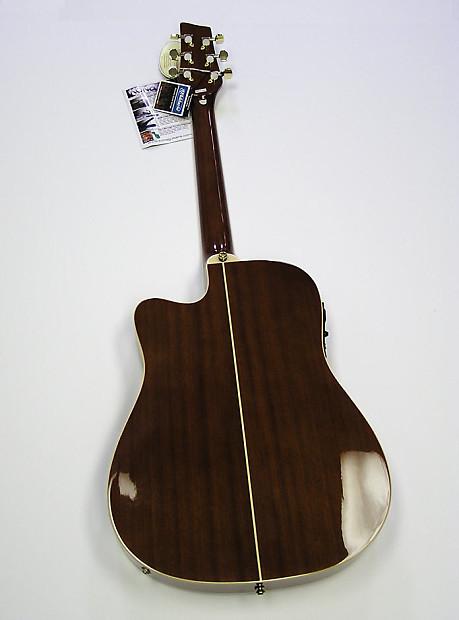 kona k2 series thin body electric acoustic guitar natural reverb. Black Bedroom Furniture Sets. Home Design Ideas