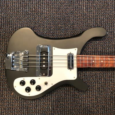 Rickenbacker 4001C64S  Paul McCartney 4001 C64S Bass RARE Matte Black for sale